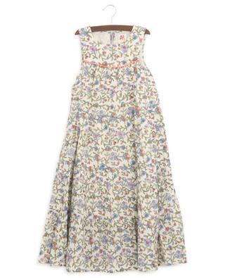 Ärmelloses geblümtes Kleid Bella AO76