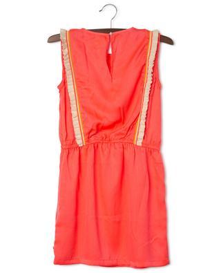 Ärmelloses Neon-Kleid mit Strickrüschen Sadie AO76
