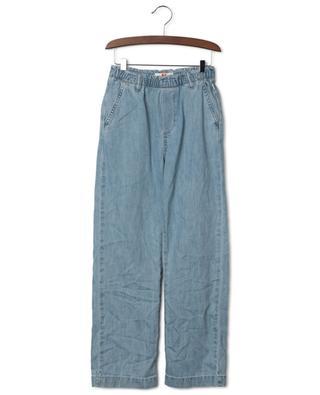 Pantalon en denim léger blanchi Eileen AO76