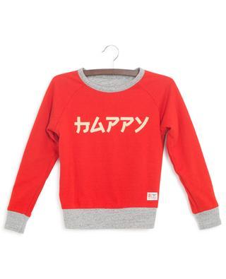 Sweat-shirt réversible Super Happy AO76