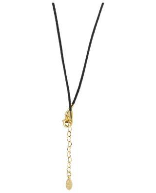 Croix enamel and gold necklace GAS BIJOUX