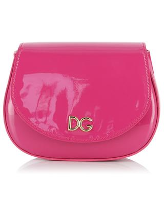 Bambino DG patent leather shoulder bag DOLCE & GABBANA