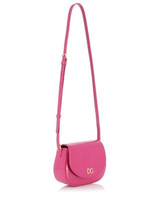 Bambino DG patent leather shoulder bag DOLCE & GABBANA