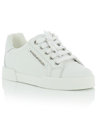 Portofino children's calf leather sneakers DOLCE & GABBANA