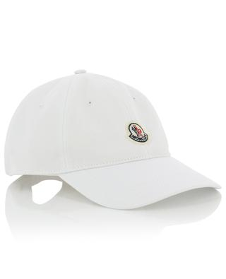 Embroidered logo cotton baseball cap MONCLER