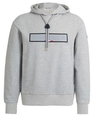 Kapuzensweatshirt aus Baumwolle mit Aufnäher MONCLER