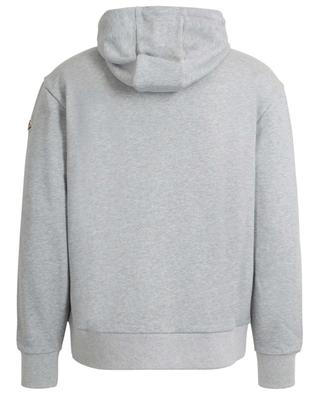 Sweat-shirt à capuche en coton avec application MONCLER