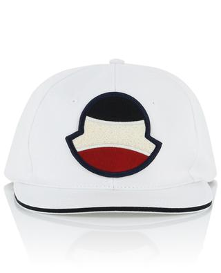 Tennis spirit logo adorned baseball cap MONCLER