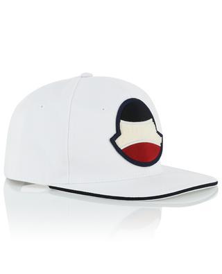 Casquette embellie d'un logo esprit tennis MONCLER
