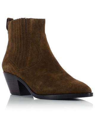 Floyd Bis 06 suede western ankle boots ASH