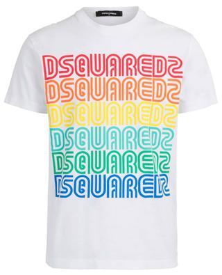 T-shirt en coton imprimé DSQUARED2