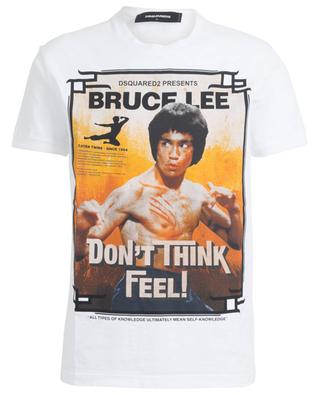 Fat Dan Fit Bruce Lee print slouchy jersey T-shirt DSQUARED2