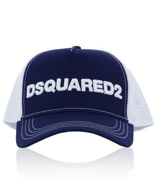 Logo embroidered cotton and mesh baseball cap DSQUARED2