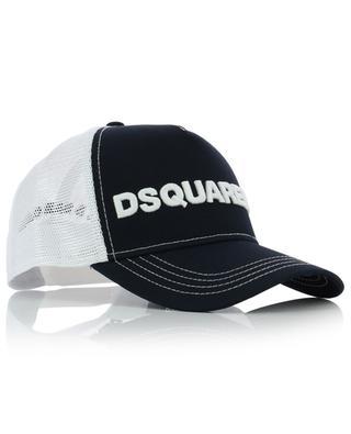 Casquette en coton et mesh brodée logo DSQUARED2