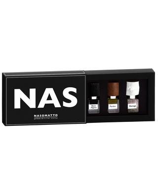 Set mit drei Miniaturen NAS NASOMATTO