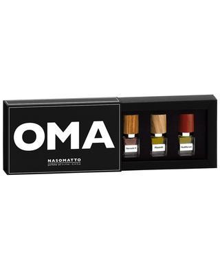 OMA set of three miniatures NASOMATTO