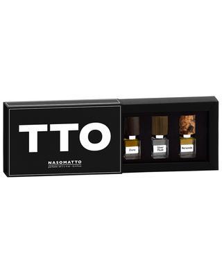 Set de trois miniatures TTO NASOMATTO