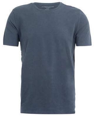 Rundhals-T-Shirt aus Stretch-Jersey mit kurzen Ärmeln MAJESTIC FILATURES