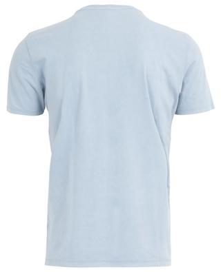 Cotton stretch jersey crew neck short sleeve T-shirt MAJESTIC FILATURES