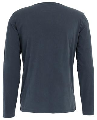 T-shirt manches longues en jersey Marine MAJESTIC FILATURES