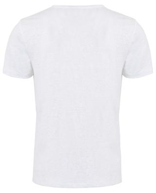 Deluxe round neck linen stretch T-shirt MAJESTIC FILATURES