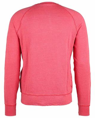 Sweat-shirt ajusté chiné à manches raglan MAJESTIC FILATURES