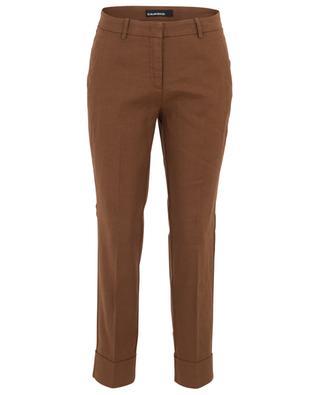 Hose aus Leinen- und Baumwollmix Krystal CAMBIO