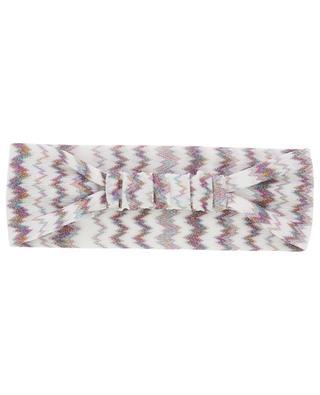 Bandeau en crêpe métallisé MISSONI MARE