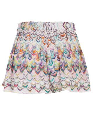 Multicolour knit and Lurex shorts MISSONI MARE