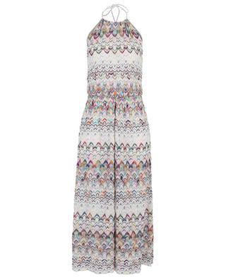 Sparkling knit neck-holder jumpsuit MISSONI MARE