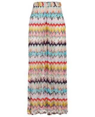 Zigzag knitted trousers MISSONI MARE