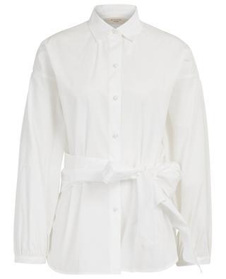 Liana loose poplin shirt with removable sash WEEKEND MAXMARA