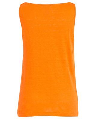 Linen sleeveless top GRAN SASSO