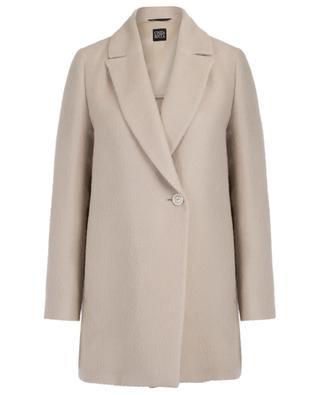 Lightweight alpaca and silk oversize coat CINZIA ROCCA