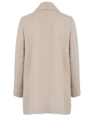Leichter Oversize-Mantel aus Alpaka und Seide CINZIA ROCCA