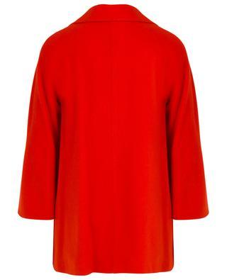 A-förmiger doppelreihiger Mantel aus Kaschmir und Wolle CINZIA ROCCA