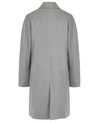 Gerader lässiger leichter Mantel aus Kaschmir und Wolle CINZIA ROCCA