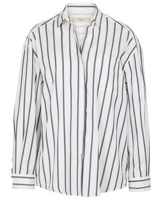Weites gestreiftes Hemd aus Baumwolle Libano WEEKEND MAXMARA