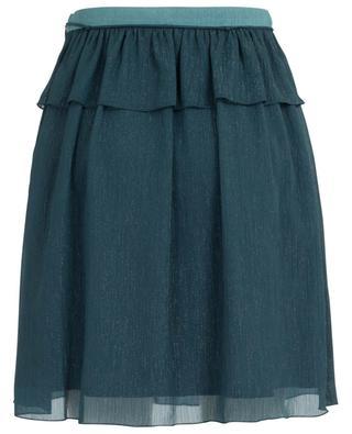 Capsule Holiday short glittering ruffled skirt KENZO