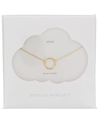 Open Circle gold plated necklace ESTELLA BARTLETT