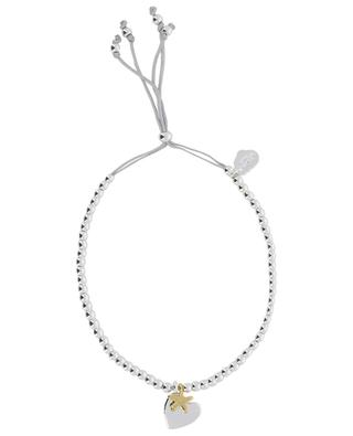 Silbernes Charm-Armband Sienna Heart & Star ESTELLA BARTLETT