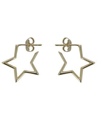 Goldene Creolen in Sternenform Star Hoop ESTELLA BARTLETT