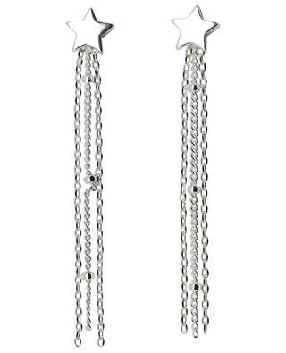 Silberne Ohrringe Star Chain Tassle ESTELLA BARTLETT