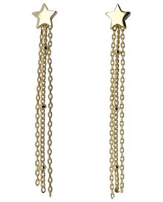 Goldene Ohrringe Star Chain Tassle ESTELLA BARTLETT
