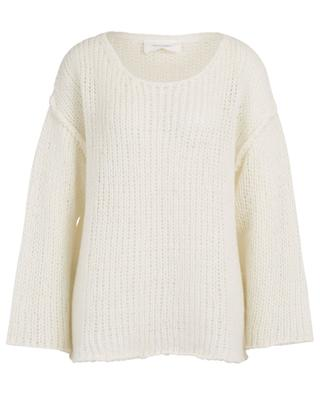 Piuroad PIU275 airy knit oversize jumper AMERICAN VINTAGE