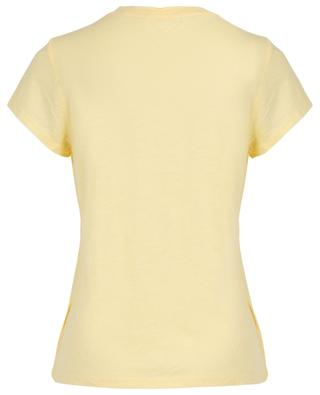 T-Shirt aus geflammtem Jersey Jacksonville AMERICAN VINTAGE