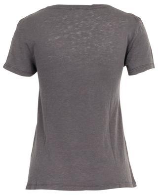 Kobibay slub jersey V-neck T-shirt AMERICAN VINTAGE