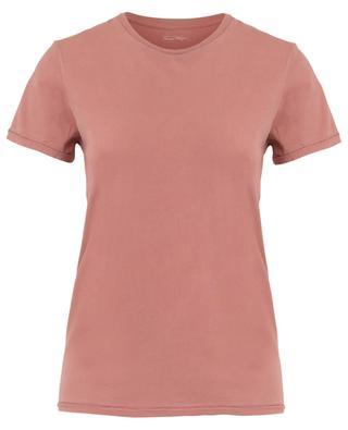 T-Shirt aus organischer Baumwolle mit Rundhalsausschnitt Vegiflower AMERICAN VINTAGE
