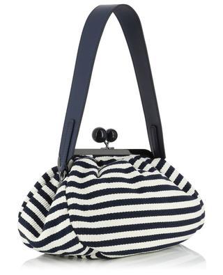 Handtasche aus gestreiftem Stoff Pasticcino Medium WEEKEND MAXMARA