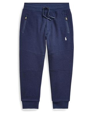 Pony embroidered mottled jogger trousers POLO RALPH LAUREN